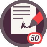 Написал 50 отзывов