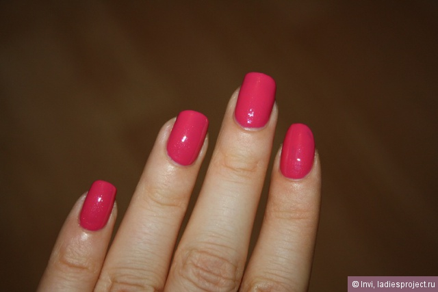 Лак для ногтей Gel Finish (оттенок Parfait Pink) от Avon фото 1