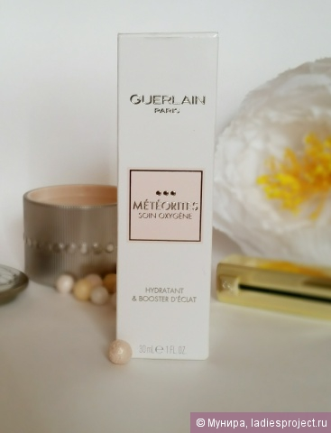 Увляжняющий флюид Meteorites Oxygen Care Moisturizer and Radiance Booster от Guerlain фото 1