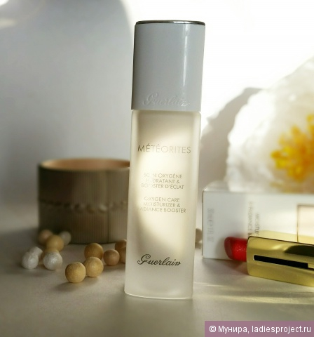 Увляжняющий флюид Meteorites Oxygen Care Moisturizer and Radiance Booster от Guerlain фото 2