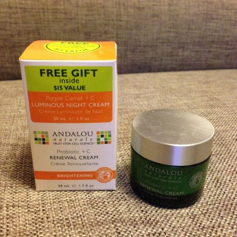 Крем для лица Renewal cream Probiotic +C от Andalou Naturals фото 1