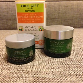 Крем для лица Renewal cream Probiotic +C от Andalou Naturals фото 3