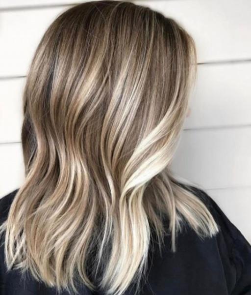 Тонировка волос для мелирования