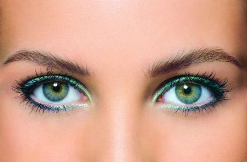 Цвет волос для зелёных глаз – самые красивые сочетания || Бледно зеленый цвет волос