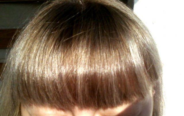Мелирование темных волос тоником