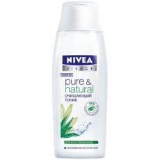 Очищающий тоник для лица для всех типов кожи Pure&Natural от Nivea