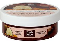 Сахарные скрабы для тела Chocolate and Marzipan и Carambola and Noni от Fresh Juice