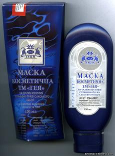 """Косметическая маска на основе иловой сульфидной грязи Сакского озера от  ТМ """"Гея"""""""