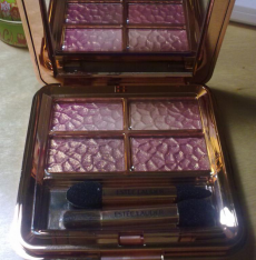 Тени для век Sensuous Gold Signature Eyeshadow Quad in Rose Gold от Estee Lauder