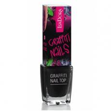 Лак-кракелюр Graffiti nail top от IsaDora