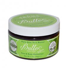 Натуральное шелковистое масло для лица и тела Pure Aloe Vera Butter от Aroma Naturals