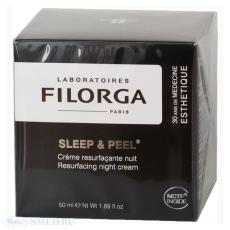 """Ночной разглаживающий крем """"Sleep & peel"""" от Filorga"""