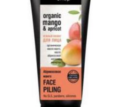 """Нежный пилинг для лица """"Абрикосовый манго"""" от Organic Shop"""