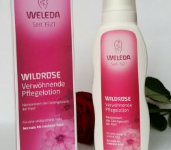 Розовое гармонизирующее молочко для тела от Weleda
