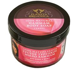 100% натуральное густое турецкое мыло хаммам для бани и душа от Planeta Organica