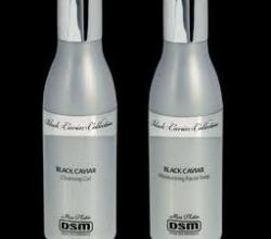 """Очищающий гель и  лосьон для лица с экстрактом черной икры """"Black Caviar Collection"""" от Mon Platin"""