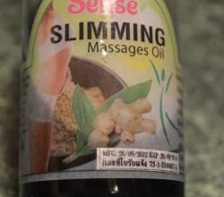 """Масло для похудения """"Slimming Massages Oil"""" от Sense"""