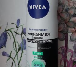 """Антиперспирант """"Невидимая защита"""" Свежий от Nivea"""