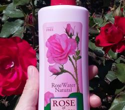 Натуральная розовая вода от Rose of Bulgaria