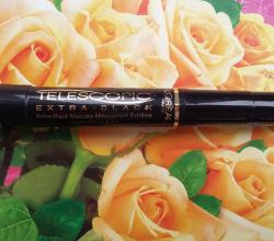 Тушь для ресниц Telescopic Extra-black от L'Oreal