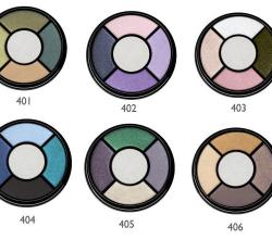 Четырехцветные тени для век Fashion Colour (оттенок № 405) от Bell