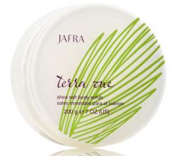 Скраб для тела с маслом ши и морской солью Terra One - Shea Salt Body Scrub от Jafra