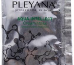 Крем-маска увлажняющая 2 в 1 AQUA-INTELLECT от Pleyana