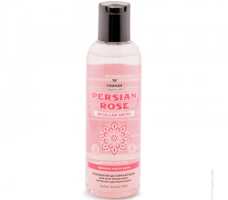 Розовая мицеллярная вода Persian Rose для всех типов кожи серии Hammam organic oils от Natura Vita