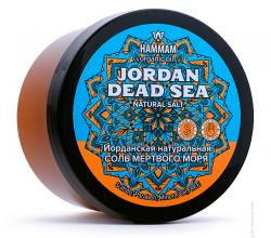 Иорданская натуральная соль Мертвого моря Jordan Dead Sea серии Hammam organic oils от Natura Vita