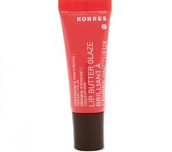 Баттер для губ Lip butter Glaze brilliant Pomegranate от Korres