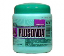 Восстановительный бальзам для волос «Plusonda» от Bielita