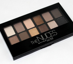 Тени для век The Nudes Palette от Maybelline