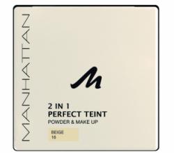 Профессиональная пудра+крем Perfect Teint Powder&Make Up от Manhattan