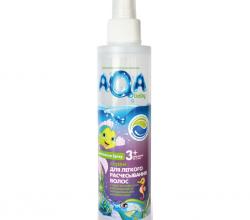 Детский спрей для волос от Aqa baby