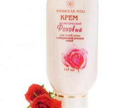 Крем «РОЗОВЫЙ» для нормальной и сухой кожи от Крымской розы