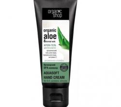 Крем-гель для рук и ногтей Organic Aloe and Thermal Water от Organic Shop