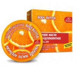 Твердое антицеллюлитное масло для тела «Апельсин» от Floresan