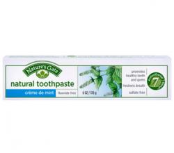 """Натуральная гелевая зубная паста без фтора """"Холодная мята"""" от Nature's Gate"""