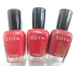 Профессиональный лак для ногтей (оттенок ZP259 Gia) от Zoya