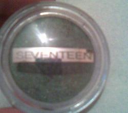 Тени для век от Seventeen