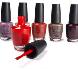 Лак для ногтей (оттенок NL B60, Light My Sapphire) от OPI