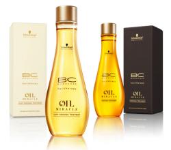 Масло для ухода и блеска волос (для тонких волос) Bonacure Oil Miracle от Schwarzkopf Professional