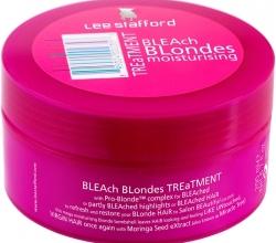 Интенсивно увлажняющая маска для волос Bleach Blondes Treatment от Lee Stafford