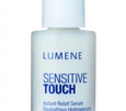 Успокаивающая сыворотка моментального действия Sensitive Touch от Lumene