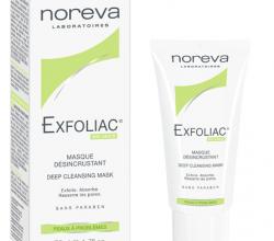 Отшелушивающий гель для лица Exfoliac Gel Desincrustant Facial Scrub от NOREVA LED
