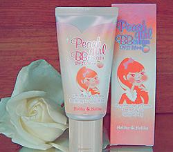 BB крем 2в1 «Peach Girl BB Cream SPF37 PA++» от Holika Holika