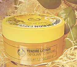 Скраб для тела «Sweet Lemon Body Scrub» от The Body Shop
