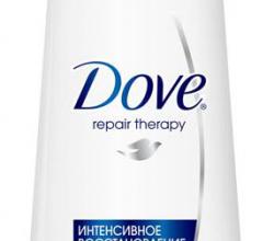 Ночной крем для волос Repair Therapy от Dove