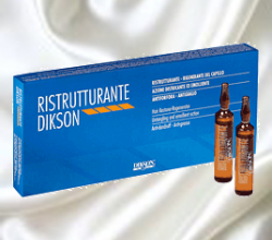 Восстанавливающий комплекс мгновенного действия для очень сухих и поврежденных волос RISTRUTTURANTE от DIKSON