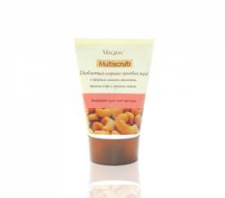 Обновляющий кофейно-ореховый скраб для лица от Маграв